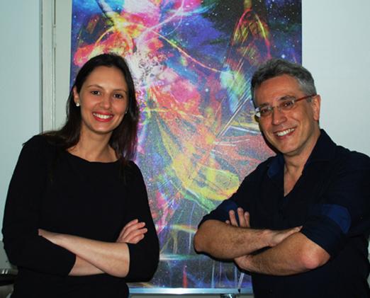 Juliana Mai e Henrique Vieira Filho