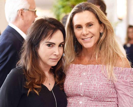 Kiki Perelmuter e Priscila Szafir