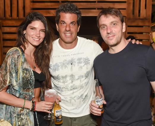 Lou Montenegro, Álvaro Garnero e André Clemente