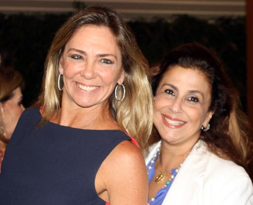 Márcia Veríssimo e Silvia Ururahy
