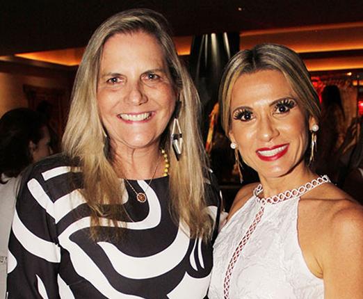 Maninha Barbosa e Adriana Alves