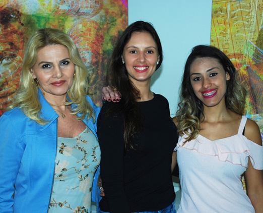 Marcia Kozlowski, Juliana Mai e Erica Caroline