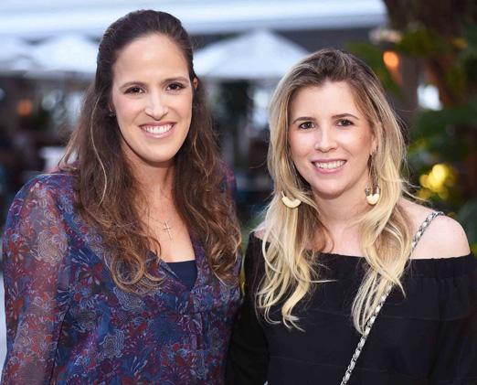 Maria Antonia de Orleans e Bragança e Renata Abreu