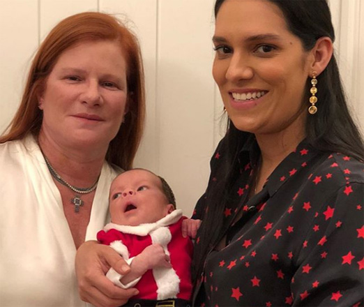 Maria Geyer, Thais Araújo e Rafael