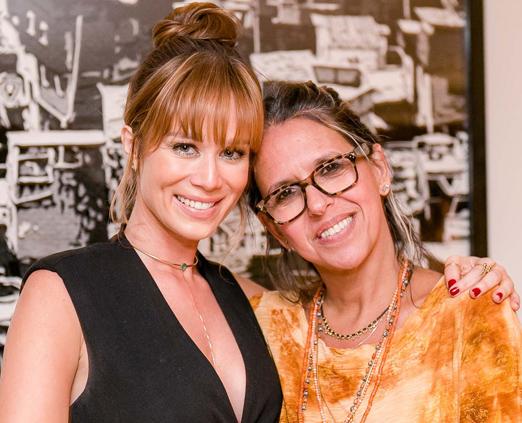 Mariana Ximenes e Gilda Midani