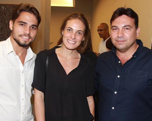 Mateus Pinheiro, Luiza Bottino e Matias Pinheiro