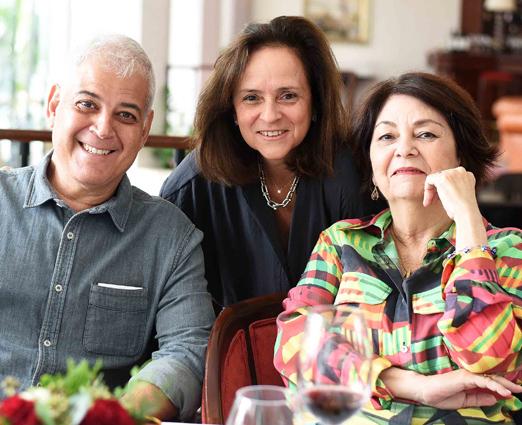 Mauricio Nóbrega, Patricia Quentel e Suzete Aché