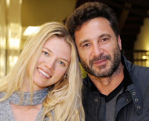Melanie Ribbe e Rico Mansur
