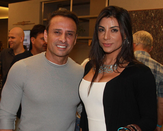 Olinto Gonçalves e Luciana Lima