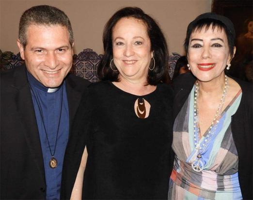 Padre Alexandre, Beth Serpa e Yacy Nunes