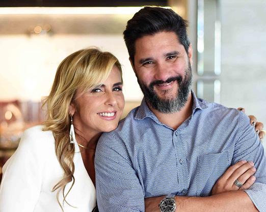 Patricia Hall e Fabio Bouillet