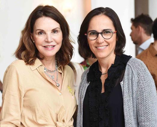 Patricia Mayer e Gisele Taranto