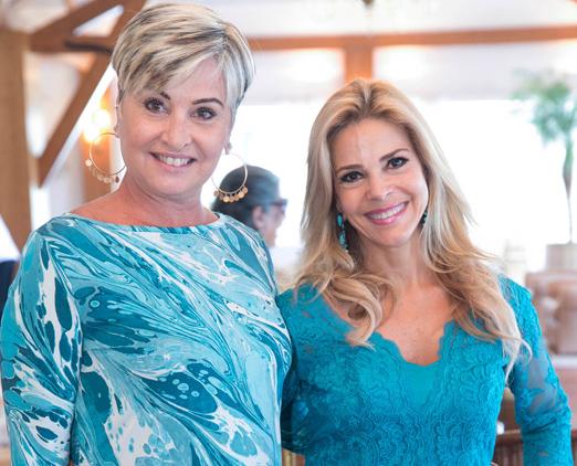 Paula Almeida e Manoela Ferrari