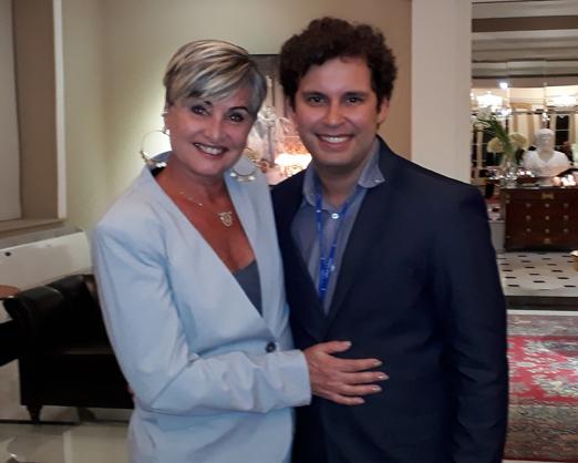 Paula Almeida e Marcus Brandão