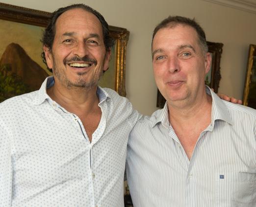 Philippe Seigle e Bayard Boiteux