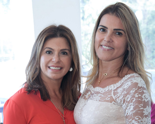 Raquel Verri e Claudia Lobo