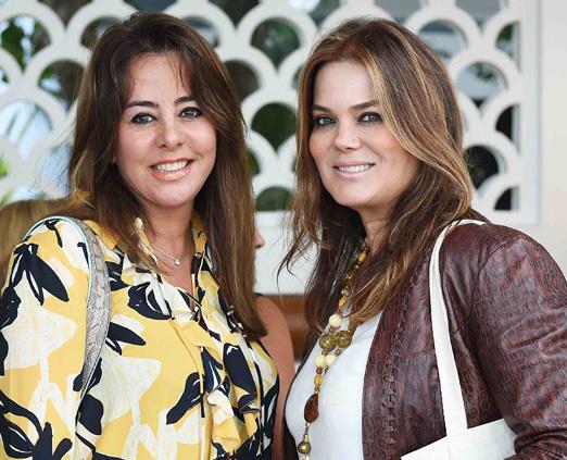 Regina Cardoso e Flavia Curvello