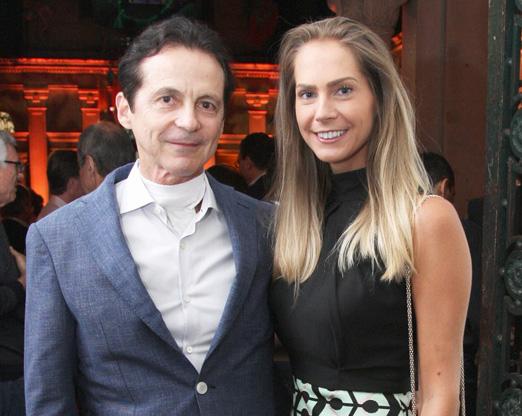 Renato Rique e Monica Moccelini
