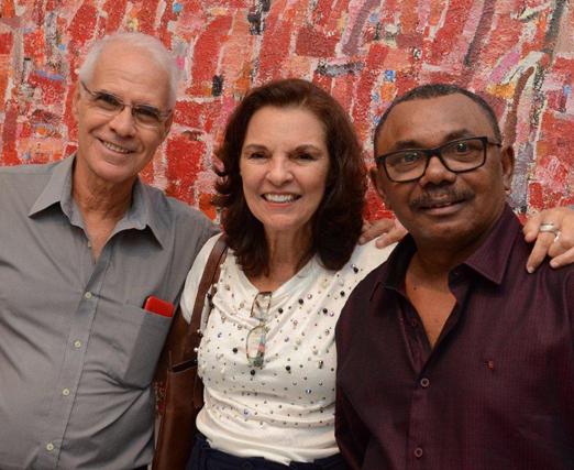 Ricardo Newton, Miriam Blaschke e Cosme Martins