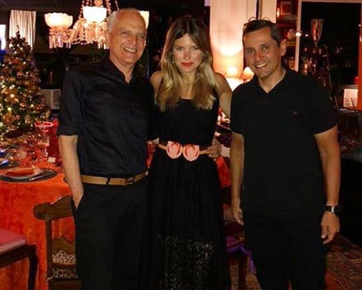Ricardo Stambowsky, Barbara Pittigliani e Beto Pittigliani