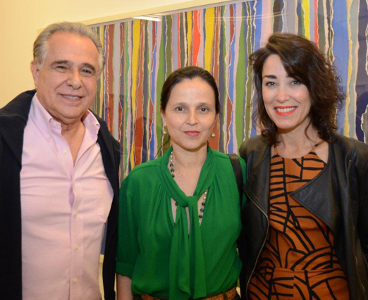 Roberto D'Avila, Mari Stockler e Gabriela Moraes