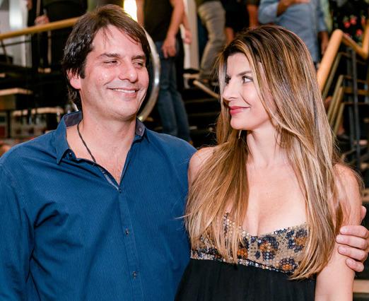 Roberto e Claudia Jatahy