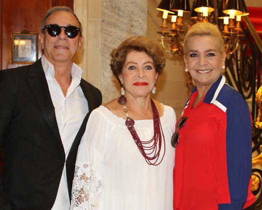 Sergio Carvalhal, Ivanete de Oliveira e Vera Bangel