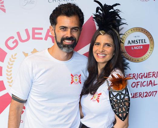 Sergio Morisson e Fernanda Suplicy