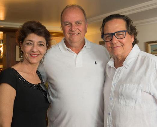 Sonia Mattos, Rogério Van Rybroek e Nestor Rocha