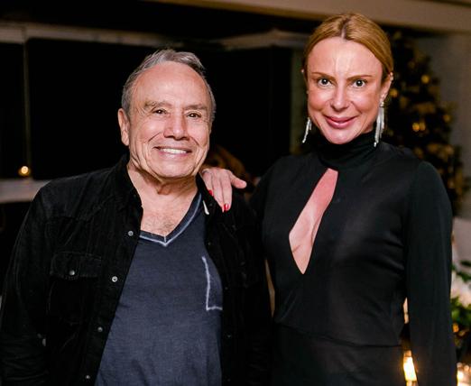Stênio Garcia e Marilene Saade
