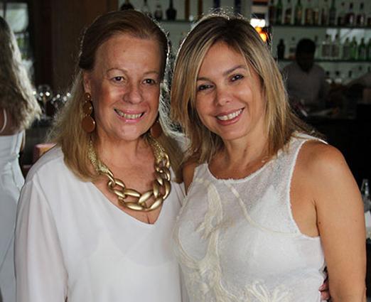 Suely Lobo e Mercedes Herrera
