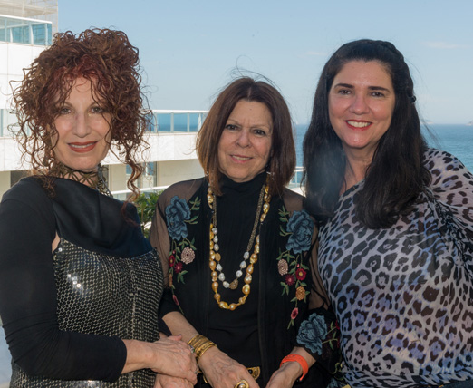 Susi Cantarino, Vanda Klabin e Joana Maria Teixeira