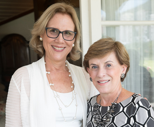 Sylvia Jane Crivella e Cecilia Dornelles