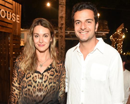 Tahiana Vieira e Paulo Boghosian