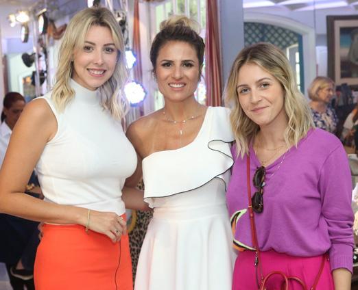 Tatiana Araújo, Ana Paula Barbosa e Carol Neves