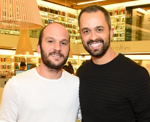 Vagner Fernandes e Leo Faria
