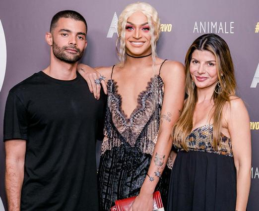 Vitorino Campos, Pablo Vittar e Claudia Jatahy