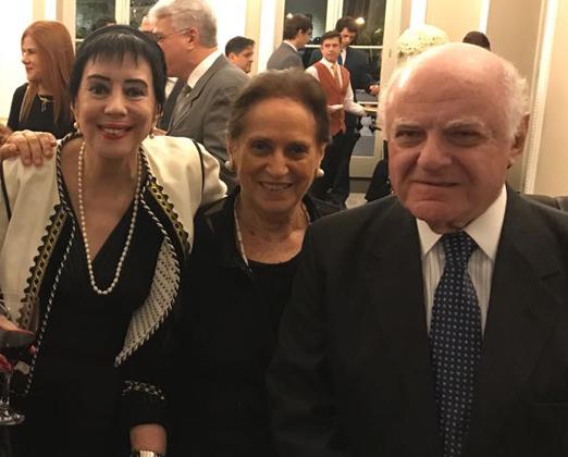 Yacy Nunes, Belita Tamoyo e Francis Bogossian