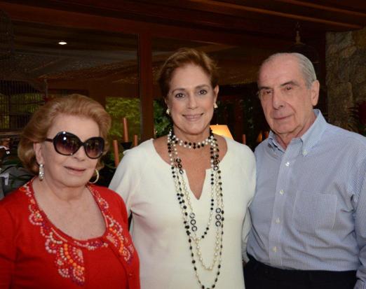Yara Andrade, Sylvia Fraga e Luiz Fernando Santos Reis