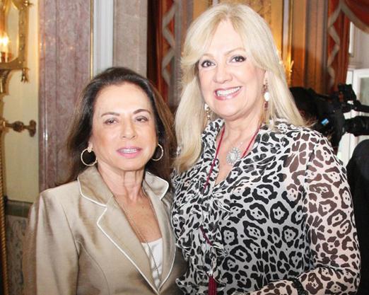 Yvonne Bezerra de Mello e Alda Soares