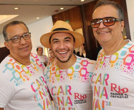 Amaro Leandro Barbosa, Vinicius Belo e Zé Ronaldo Muller