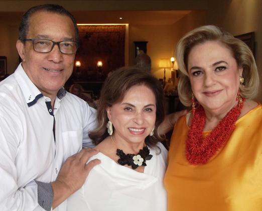 Amaro Leandro, Cleuba Verri e Cristina Aboim