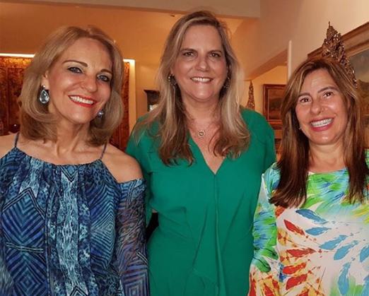 Ana de Paula, Maninha Barbosa e Alice Tamborindeguy