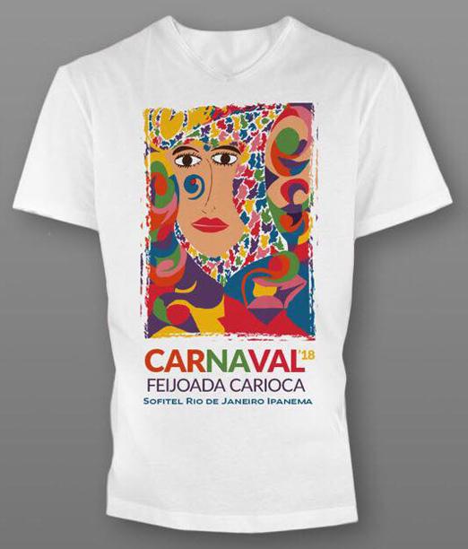 Camiseta da Feijoada dos Embaixadores do Rio