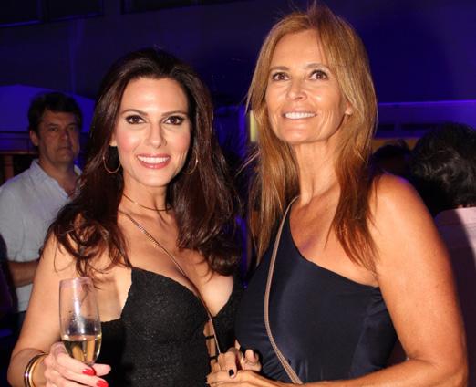 Carla Godinho e Adriana Oliveira