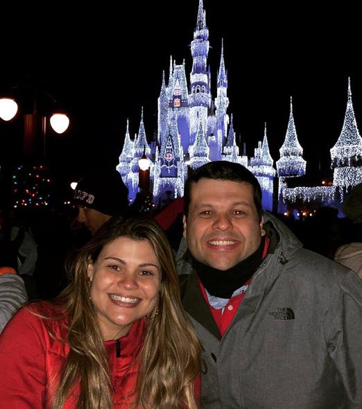 Carlos Lamoglia com a irmã Patricia