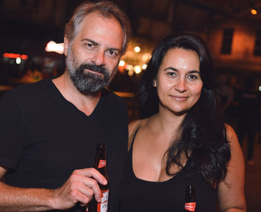 Carlos Wiering e Heloisa Andreozzi