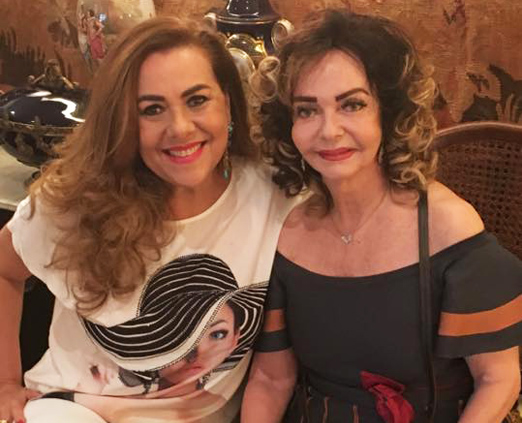 Carmen Emília Xavier Nunes e Vera Loyola