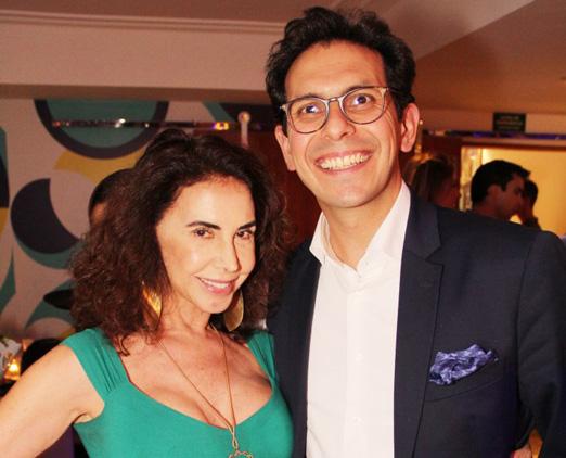 Claudia Alencar e Netto Moreira