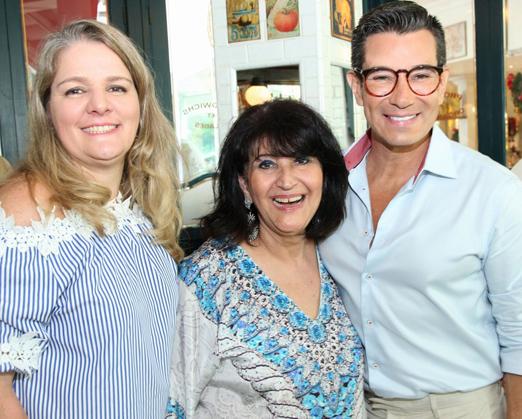 Claudia Jannuzzi, Micheline Thomé e Marcelo Hicho net